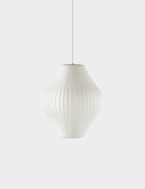 George Nelson Pear Bubble Lamp (Herman Miller) - Lights Lights Lights