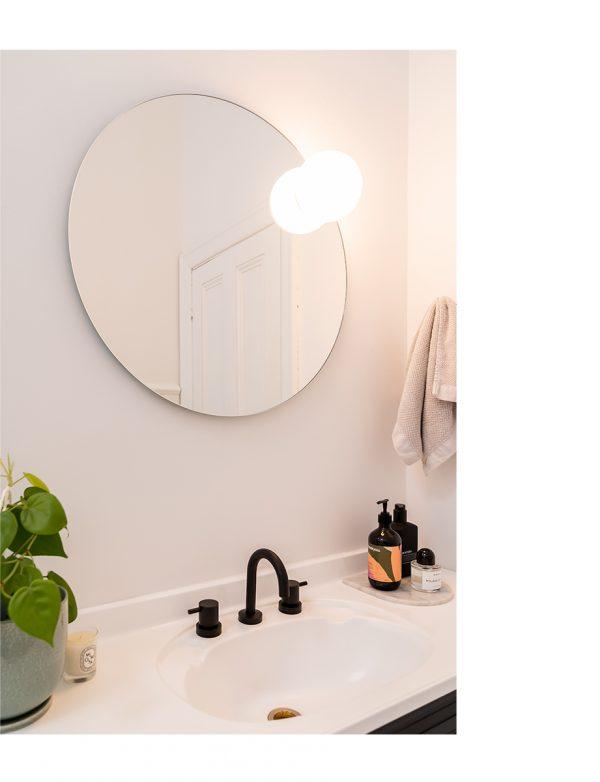 Circ Mirror vanity light (Estiluz) - Lights Lights Lights