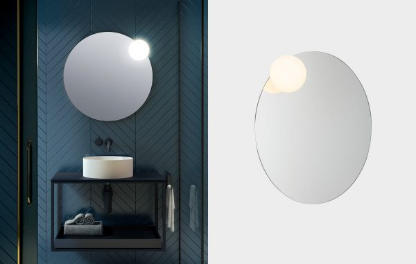 Circ Mirror vanity wall light (Estiluz) - Lights Lights Lights