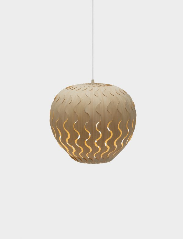 David Trubridge Belle pendant - Lights Lights Lights