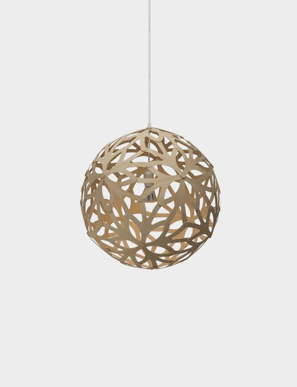 David Trubridge Floral pendant - Lights Lights Lights