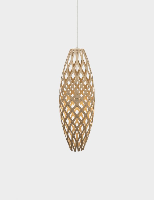 David Trubridge Hinaki pendant - Lights Lights Lights