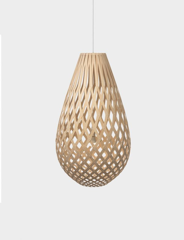 David Trubridge Koura pendant - Lights Lights Lights