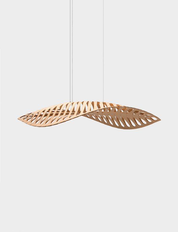 David Trubridge Navicula pendant - Lights Lights Lights