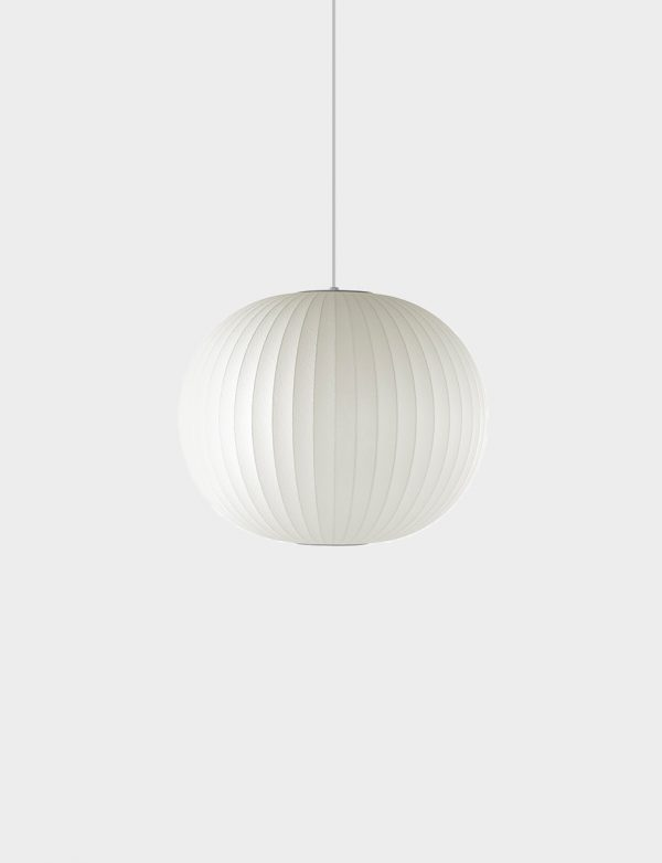 George Nelson Ball Bubble Pendant (Herman Miller) - Lights Lights Lights